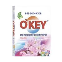 """Стиральный порошок-автомат для белого и цветного белья """"Цветочный букет"""" O'KEY 3969206"""
