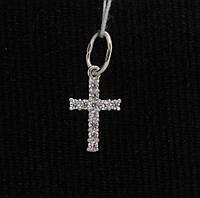 Крест серебро 925 проба №3087 С КАМНЯМИ