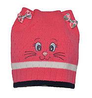 Детская  шапочка с бантиками.
