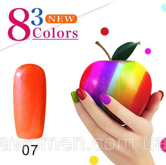 Гель лак KCE Color Natural 10 ml № 7