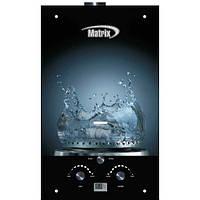 Газовая колонка Matrix JSD-20 ( газ вода) Стекло 10 литров/минута
