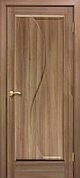 Двери межкомнатные Омис Эльза ПГ ПВХ  глухая, цвет дуб золотой