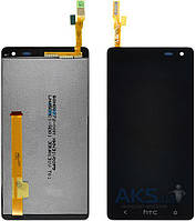 Дисплей (экран) для телефона HTC Desire 609, 609d + Touchscreen with frame