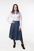 Жіноча сорочка з вишивкою Кульбаба фіолет, фото 1