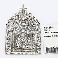 """Серебряная икона """"Семистрельная"""" 8100106"""
