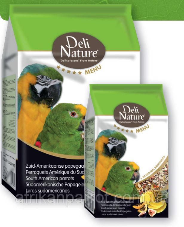 Deli Nature 5 ★ меню - южноамериканские попугаи 2,5 кг