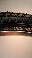 "Велосипедная покрышка 24х2.0 ""GENERAL"""