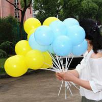 Надувные шарики однотонные Gemar balloons 100 штук