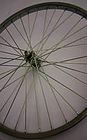 """Велосипедное колесо 16"""" переднее усиленное"""