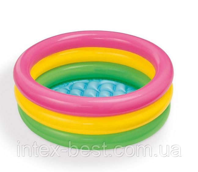 """Надувной бассейн """"Радуга"""" 57107 ( 61х22 см.)"""