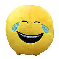 Мягкая игрушка Смайлик Смехотунчик 11 см IMOJI (40059)