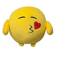 Мягкая игрушка Смайлик Поцелуйчик 18 см IMOJI (40028)