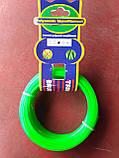 Волосінь d2.0, зелена, зірочка (для тримера), фото 6