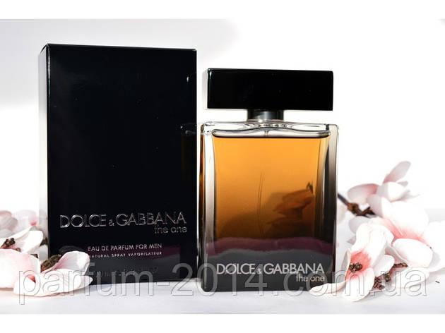Мужская парфюмированная вода Dolce & Gabbana The One for Men Eau de Parfum (реплика), фото 2