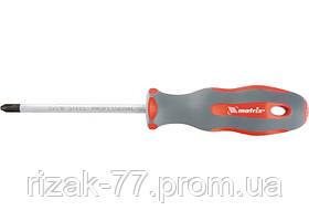 Отвертка Profi, SL4, 0 х 75 мм, SVСM, двухкомп. рукоятка MTX