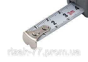 Рулетка Fine, 3 м х 16 мм, пластиковий корпус MTX