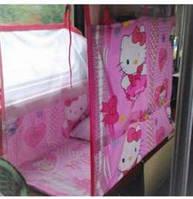 Манеж для поезда текстильный Китти