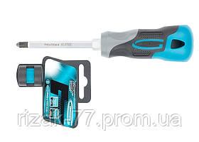 Отвертка PH2 x 100мм, S2, трехкомпонентная ручка GROSS