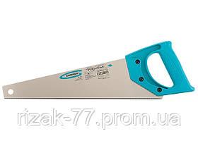 Ножовка для работы с ламинатом PIRANHA, 360 мм, 15-16 TPI, зуб-2D, каленый зуб, пласт.рук-ка GROSS
