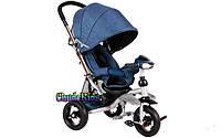 Детский трехколесный экологичный велосипед-коляска Crosser T-350 ECO