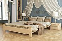 Кровать двуспальная деревянная Афина