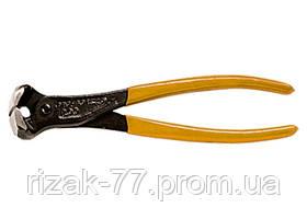 Клещи Black Head, 160 мм, торцевые, обрезиненные рукоятки SPARTA