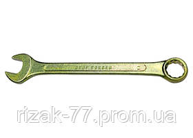 Ключ комбинированный, 22 мм, желтый цинк СИБРТЕХ
