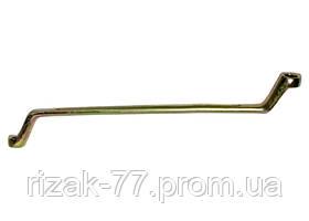 Ключ накидной, 10 х 11 мм, желтый цинк СИБРТЕХ