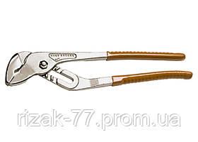 Клещи, 250 мм, переставные, рукоятки ПВХ SPARTA