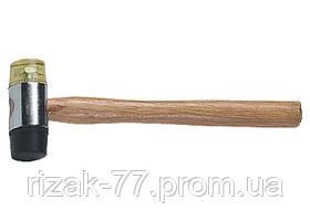 Молоток рихтовочный, бойки 35 мм, комбинированная головка, деревянная ручка SPARTA