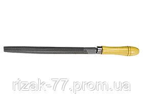 Напильник, 300 мм, полукруглый, деревянная ручка СИБРТЕХ