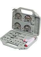 Отвертка с Т-образной эргономичной ручкой и набором насадок, 36 шт., CrV, в пласт. боксе MTX
