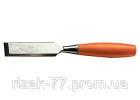 Стамеска, 10 мм, плоская, пластмассовая рукоятка SPARTA