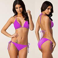 Яркий раздельный купальник для женщин 5 цветов код 2 (фиолетовый)