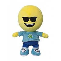 Мягкая игрушка Смайлик человечек Крутышка 27 см IMOJI (42003)