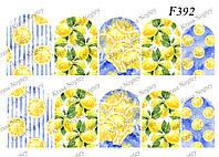 Слайдер -дизайн Лимоны F392