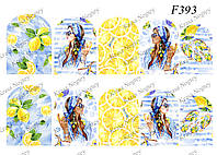 Слайдер -дизайн Лимоны F393