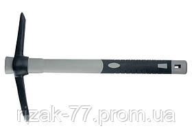Кирка MINI 400 г, фибергласовая обрезиненная рукоятка 385 мм MTX