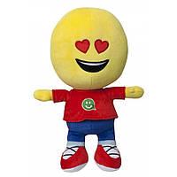 Мягкая игрушка Смайлик человечек Любимчик 27 см IMOJI (42001)
