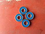 Радіальний кульковий однорядний підшипник 609 2RS, NTE(Словаччина), фото 5