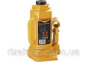 Домкрат гидравлический бутылочный, 12 т, h подъема 210-400 мм SPARTA