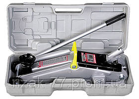 Домкрат гидравлический подкатный, 2 т, h подъема 135–385 мм, в пласт. кейсе MTX MASTER