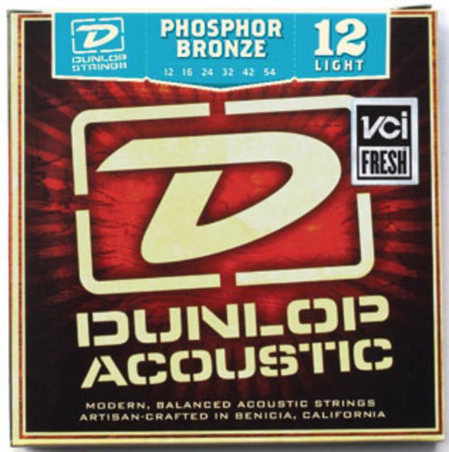 Струны для гитары акустической Dunlop калибр 12