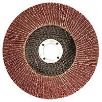 Круг лепестковый торцевой, P 100, 115 х 22, 2 мм MTX