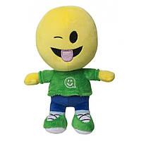 Мягкая игрушка Смайлик человечек Прикольчик 27 см IMOJI (42002)
