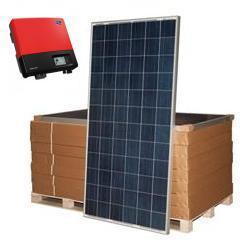 Сетевая солнечная электростанция SE-S5 SMA/SHARP