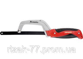 Ножовка по металлу, 250 мм, обрезиненная рукоятка MTX
