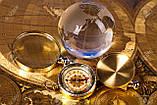 Глобус хрустальный белый 10х6,5х6,5 см (6) , фото 5