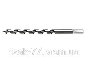 Сверло по дереву шнековое, 12 х 230 мм, 6-гранный хвостовик MTX