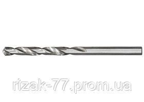 Сверло по металлу, 1, 5 мм, полированное, HSS, 10 шт. цилиндрический хвостовик MTX